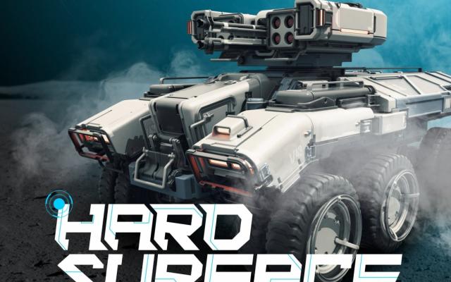 HARD SURFACE — 3D-моделирование Sci-Fi ассетов