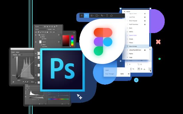 Веб-дизайн Figma и Photoshop для детей