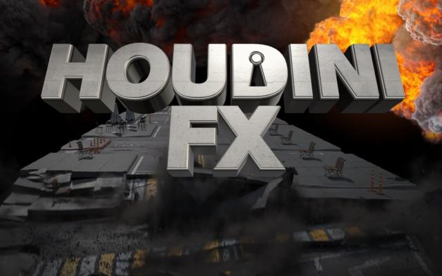HOUDINI FX — спецэффекты (VFX) и процедурные ассеты