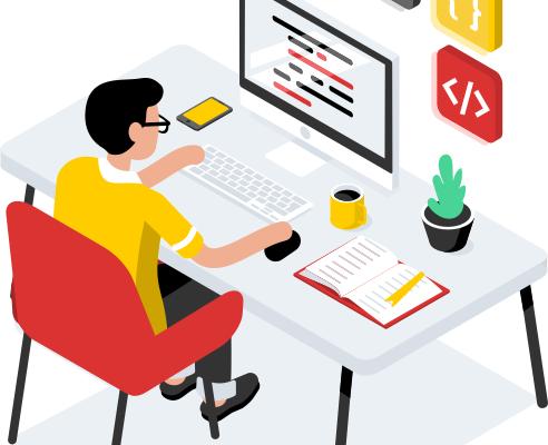 Разработка интерфейсов: вёрстка и JavaScript